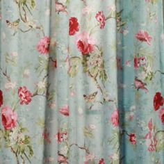 Discount curtains from Curtain Shop include drapes and curtains, kitchen and tier curtains, sheer panels, valances and more quality window treatments and accessories. Since 1976 we have been providing curtains and window coverings at great prices. Shabby Chic Shower Curtain, Flower Shower Curtain, Floral Shower Curtains, Floral Curtains, Sheer Curtains, Drapery, Rental Decorating, Small Apartment Decorating, Decorating Tips
