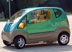 Minicoche que funcionaría con aire comprimido...un Smart ecoamigable!!!