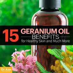 Geranium Oil Benefits