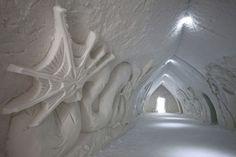 Artic snow Hotel in Rovaniemi in Finnish Lapland / B.