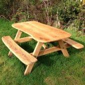 oak picnic table