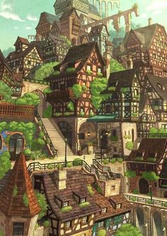 Elevated Verdant Village