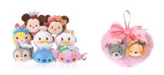 The 2017 Valentine's Day Tsum Tsum collection includes Lady and the Tramp heart set!