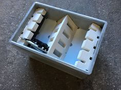 Foam Packaging, Packaging Design, Cube, Design Packaging, Package Design