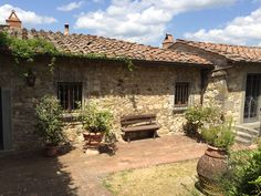 Stone home in Tuscany