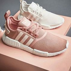 WEBSTA @ itsmsmonica - Pink, white or both? ADIDAS NMD  these will be out on June 10th
