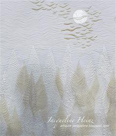 Art Quilts Jacqueline Heinz: MYTHOS WALD