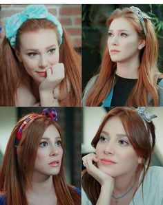 Turkish Fashion, Turkish Beauty, Turkish Style, Handsome Actors, Turkish Actors, Beautiful Actresses, Couples In Love, Redheads, Red Hair