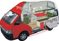 Jackpot - 3 Berth Campervan & Motorhome Hire - Mighty Australia