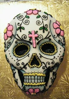 Day of the Dead.  .Can this be my birthday cake?  .