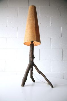 Marvelous 1960s Tree Branch Table Lamp Amazing Ideas