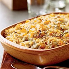 Butternut Squash Gratin with Blue Cheese and Sage | MyRecipes.com