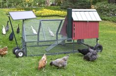 Solar-powered, self-propelled chicken coop.  @Kathy White