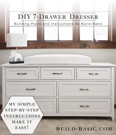 Build a DIY 7 Drawer Dresser ‹ Build Basic