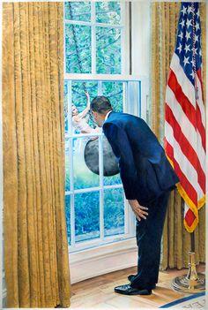 Wrecking Ball - satirical Pop Art by Eric Yahnker