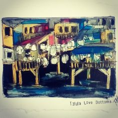 Shanty town. Surf art Surf Art, Urban Decay, Surfing, Painting, Surf, Painting Art, Paintings, Surfs Up, Painted Canvas