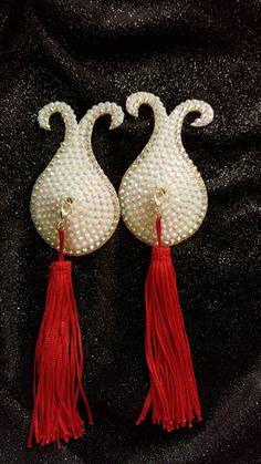 Burlesque, Pasties Nipple Tassels, High Glamour, Burlesque Pasties, Rhinestone…