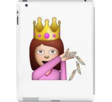 Emoji Queen Make it Rain iPad Case/Skin