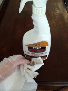 TSP+to+clean+furniture+before+painting