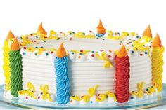 Dairy Queen - Build a Cake:- - Birthday Cake Decorating, Cake Decorating Tips, Cake Birthday, Dairy Queen Cake, Buttercream Cake, Frosting, Icing, Cake Pictures, Bakery Cakes