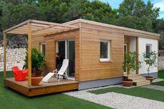 LIVING UNIT - Prefab house / modular / contemporary / solid wood by Riko Hiše