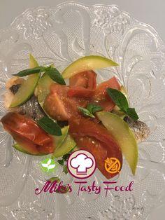 Filetto di Orata con zucchine e pomodori  Sea bream with zucchini and tomatoes – Mike's Tasty Food