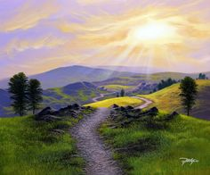 'The Road Less Traveled' by John Rattenbury