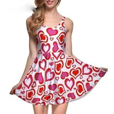 e7f62c80c8f Candy Sweetheart Skater Dress Sweet Tart Hearts