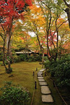 Okochi Sanso Garden in Kyoto, Japan