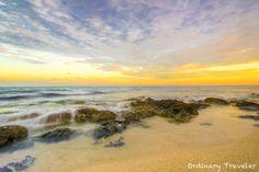 Sunset in Playa Del Carmen, Mexico