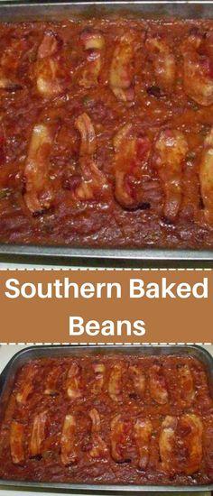 Baked Bean Recipes, Chilli Recipes, Veggie Recipes, Mexican Food Recipes, Easy Recipes, Easy Meals, Cooking Recipes, Southern Recipes, Southern Meals