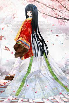 Princess of Uji by Hachiretsu.deviantart.com on @deviantART