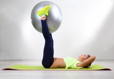 30-Printable ball Exercises. A fitness ball is a must have for every home gym workout as they make exercises such as the crunch, butt bridge, push up, prone cobra more fun and challenging. A list of 30 stability ball exercises to get you started.
