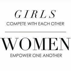 Girls compete, Women Empower