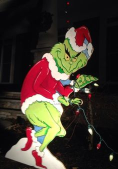 The Grinch is stealing your decorations what do you by HashtagArtz, $85.00