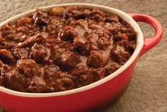 Game Day Steak Chili - recipe provided by the Certified Angus Beef® brand.