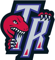 Toronto Raptors Alternate Logo - A dinosaur bitting the letters TR Logo Basketball, Basketball History, Basketball Tricks, Basketball Court, Toronto Raptors, Raptors Wallpaper, Basketball Training Equipment, Air Canada Centre, Sports Wallpapers