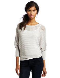 womens sweaters   ... Size: Sweaters: BCBGMAXAZRIA Women's Jerry Pointelle St Dolman Sweater