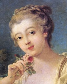 0f38a40fd74 50 Awesome ~ FINE DETAIL IN PAINTINGS ~ LADIES AND ROSES images in ...