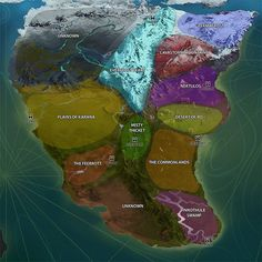 Dissecting the EverQuest Next Map - Articles - EQNext Fans