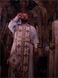 Błogosławieństwo kapłana podczas jutrzni