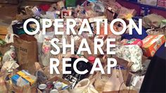 Recapping the awesome Operation Share event. How much did we collect for charity? #lsccbd