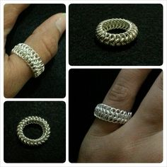 Euro 4in1 chainmaille ring