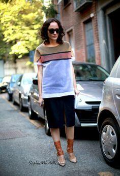 #valentinadipinto #women #fashion #skirt #streetstyle #street #cool by #sophiemhabille
