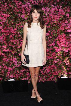 Alexa Chung at the Chanel Tribeca Film Festival Artists Dinner