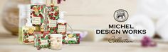 Treat yourself to fresh Black Cherry collection by Michel Design Works.
