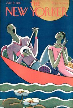 Le copertine del New Yorker e la modernità di Stanley W. Reynolds #Illustration #TheNewYorker #Cover