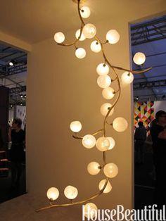 organic light fixture