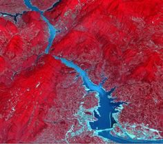 Three Gorges Dam spanning the Yangtze River in east-central China