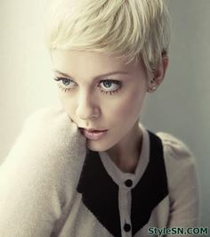 short pixie hairstyles for women 2014